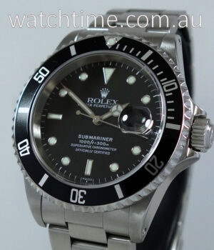 Rolex Submariner Date 16610   Box   Papers 1999
