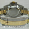 Rolex Submariner 18k & Steel, Blue-Sunburst dial 116613LB