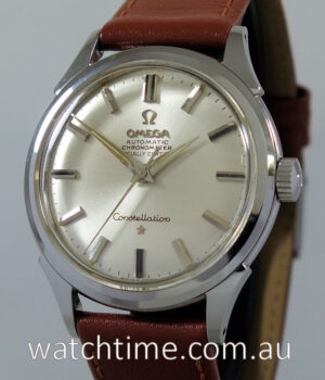 1961 OMEGA Constellation  Mint with box   papers