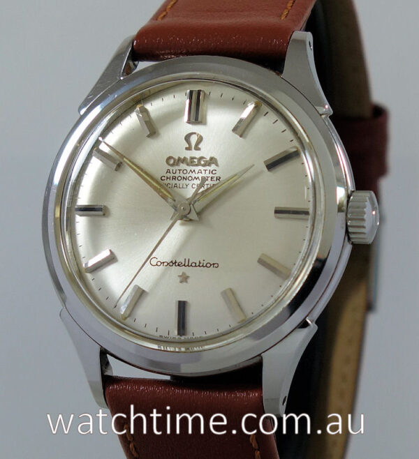 1961 OMEGA Constellation, Mint with box & papers!!