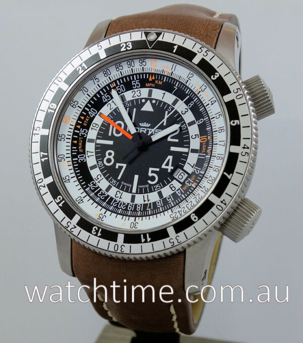FORTIS B-47 Calculator GMT Ltd. Edn. 669.10.31 L 16