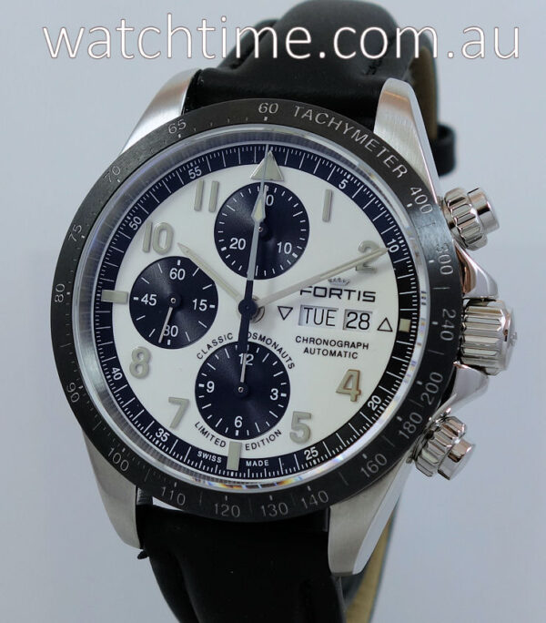 Fortis Classic Cosmonauts Ceramic Chronograph  Ltd. Edn. 100 pieces  401.26.72