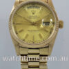 Rolex President Day Date 18k Yellow-Gold 18038