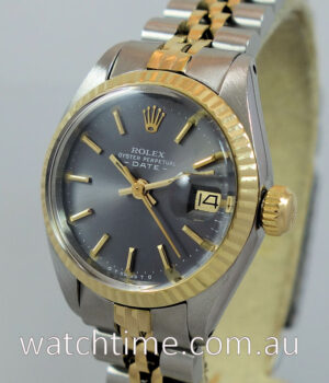 Rolex Ladies Datejust  18k   Steel  6917