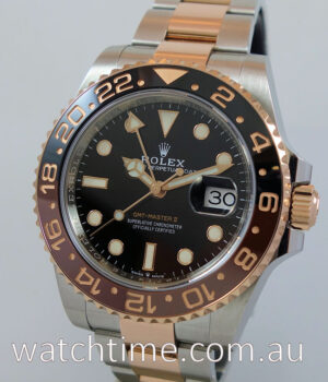 Rolex GMT-Master II  Rootbeer  126711CHNR SEPT 2019 Box   Papers