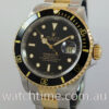 Rolex Submariner 16613  Black-dial  18k Gold & Steel