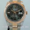 Rolex Datejust 41 Everose & Steel Wimbledon Dial 126331 OCT 2020