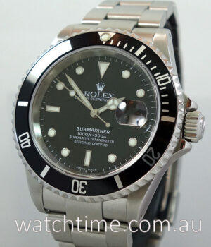 Rolex Submariner Date 16610   Box   Papers 2001 SEL