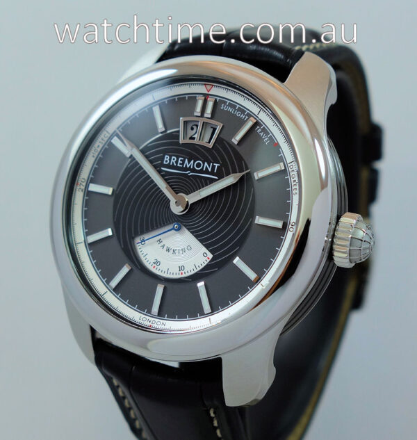 Bremont HAWKING Steel Limited Edition 022/388 Jan 2021 Box & Papers