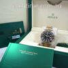 Rolex GMT II 18k Gold & Steel 116713LN 2015 Box & Papers Mint!!!