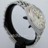 Rolex Datejust, 36mm White-Gold bezel Rare Linen Dial 1600