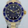 Rolex Submariner Date 18k & Steel, Blue dial 16613