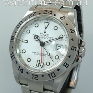 Rolex Explorer II  16570T  White Dial Box   Books