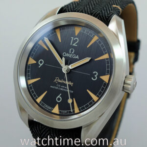 Omega Seamaster Railmaster Co-axial 40mm 220 12 40 20 01 001 OCT 2020
