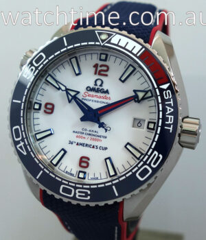 Omega Seamaster Planet Ocean 600M Co   Axial America s Cup 43 5mm 215 32 43 21 04 001 AUG 2020