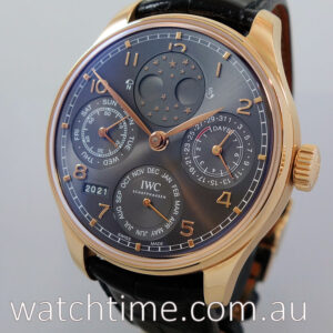 IWC Portugieser Perpetual Calendar IW503404 Box and Card 2019