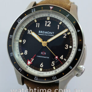 BREMONT ionBIRD GMT 2021  unused  Box and Card