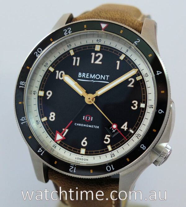 "BREMONT ionBIRD GMT 2021 ""unused"" Box and Card"