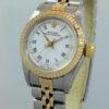 Rolex Ladies Oyster 18k & Steel 69173