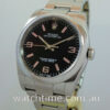 Rolex Oyster Perpetual 36mm  Black-dial  116000