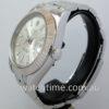 Rolex Datejust II Silver dial, White-Gold bezel 116334