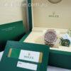 Rolex Datejust 18k Everose & Steel 116231, Factory Black Mother of Pearl Diamond dial