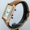 """Cartier Tank Solo 18K Rose-Gold  XL Size  W5200026 """"AS NEW"""""""
