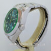 Rolex Milgauss Blue Dial, Green Crystal  116400GV  March 2020