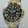 Rolex GMT Master 18k & Steel  116713LN  Box & Papers