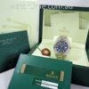 Rolex Datejust II Blue dial, White-Gold bezel 116334 Box & Card
