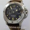 Panerai RARE Luminor Submersible Titanium with Original Titanium Bracelet PAM106