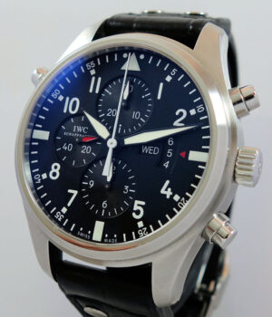 IWC Pilot Double Chronograph 46mm Ref  IW377801 2013