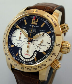 Chopard Mille Miglia Jacky Ickx Edition IV 18kt Rose Gold Flyback Chronograph ref  161262-5001 2012