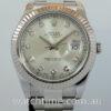 Rolex Datejust II  Diamond dial, White-Gold bezel 116334